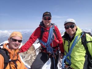 Monte Rosa: Zumsteinspitze – Dufourspitze – Balmenhorn