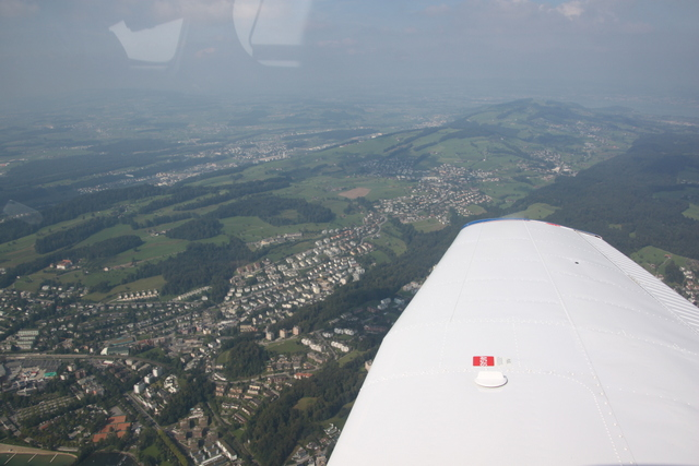 Flug Birrfeld – Jaunpass mit Pedro