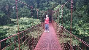 Monteverde Bosque Nuboso und Seilpark 100% Avventura, Costa Rica
