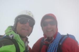 Mont Blanc: Aig. de Bionnassay – Dôme du Goûter –  Mont Blanc