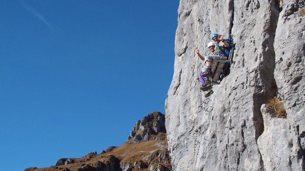 Klettersteig Luzern : Klettersteig fruttstägen und fulen chregublog