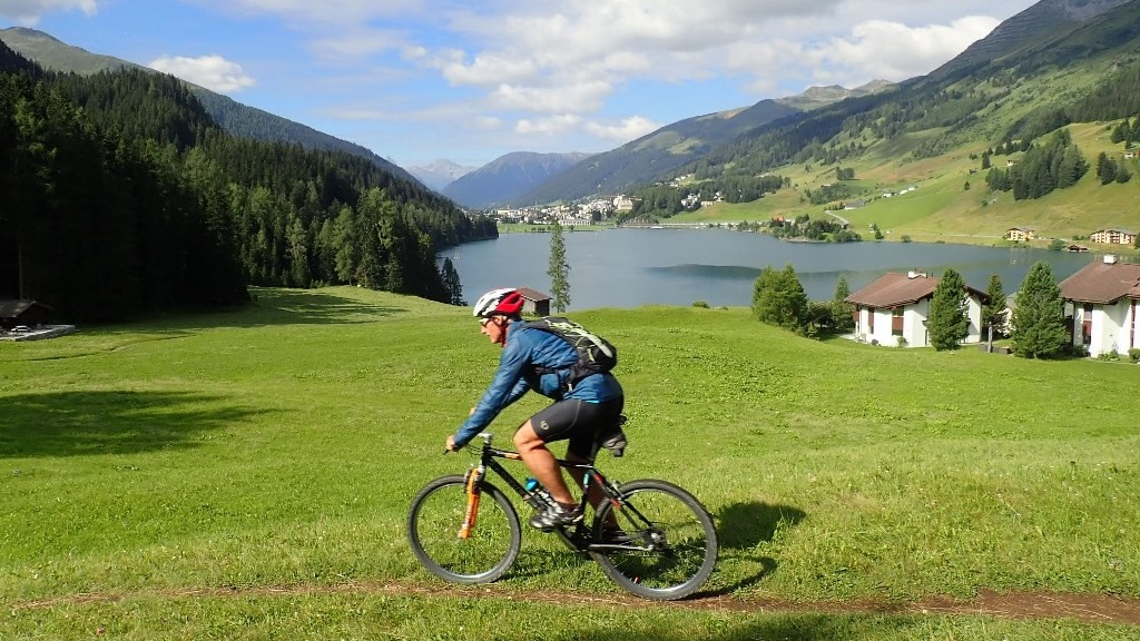Pischa Hüreli Bike und Hüttenaufstieg Silvrettahütte