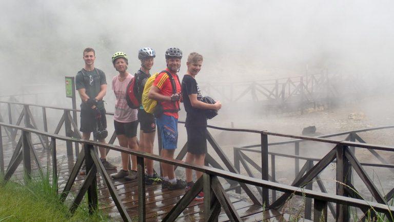 Saõ Miguel, Azoren: Lagoa das Furnas – Ribeira Quente Bike