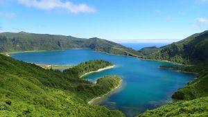 Saõ Miguel, Azoren: Ribeirinha-Lagoa do Fogo Bike