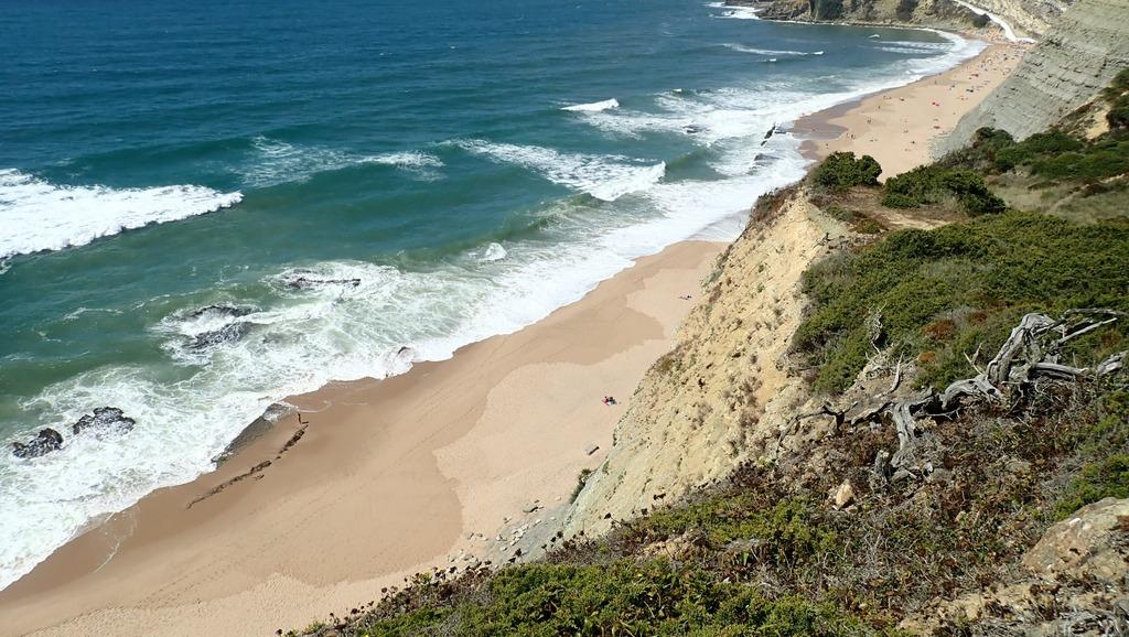 Portugal, Sintra: Wanderungen Praia do Magoito und Castelo dos Mouros