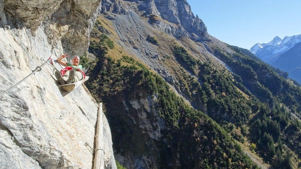 Hexensteig Klettersteig : Hexensteig hexenturm bergsteigen