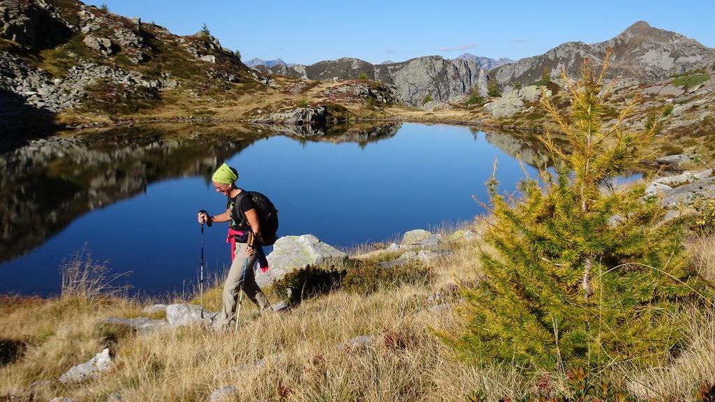 Via Alta Vallemaggia: Alpe di Spluga – Rifugio Alpe Masnée