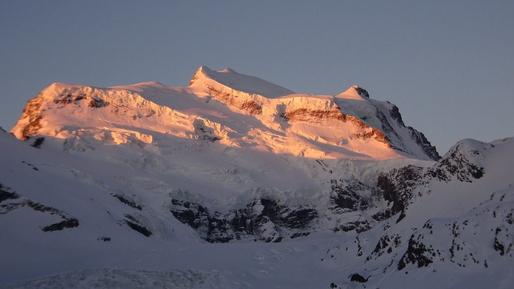 Sonnenaufgang am Grand Combin, VS. 1.6.2019