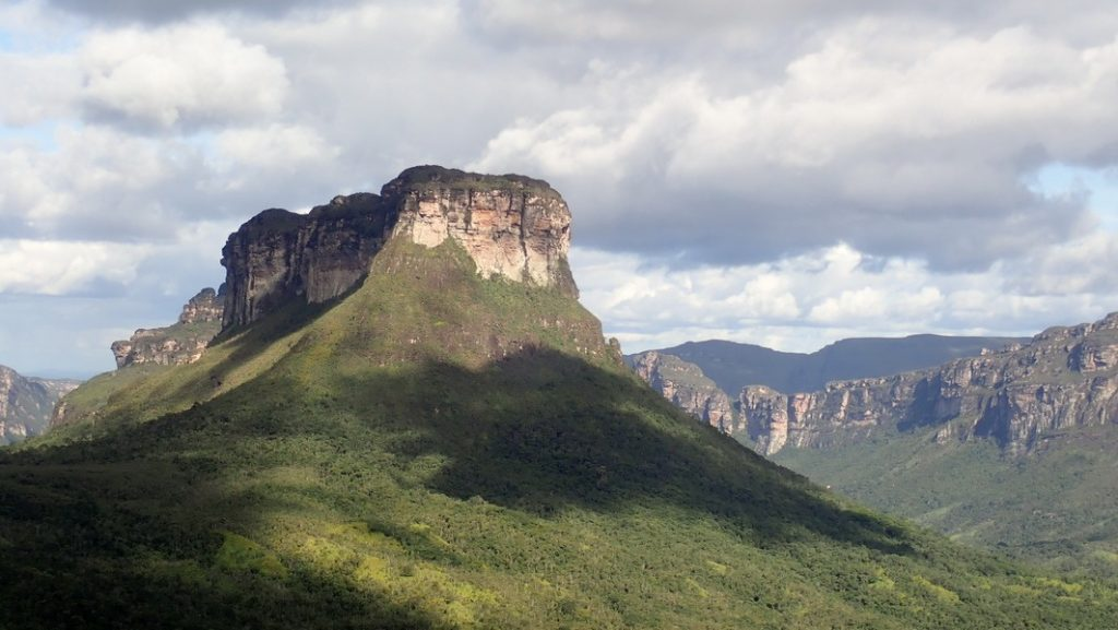 Morro in der Chapada Diamantina – Vale do Pati. 23.7.2019