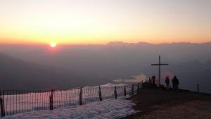 Sonnenaufgang auf der Rigi
