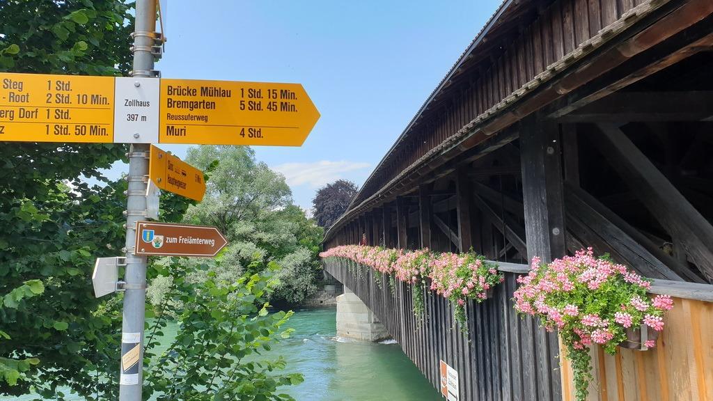 Zürich – Üetliberg – Albiskette – Sins – D23 Bike