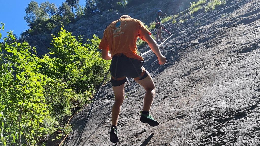 Sonnenuntergang Hammetschwand & klettern Risleten