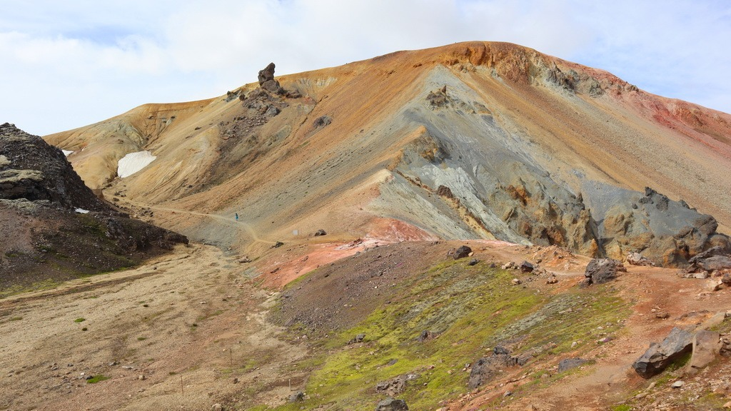 Island: Landmannalaugar Brennisteinsalda – Bláhnúkur